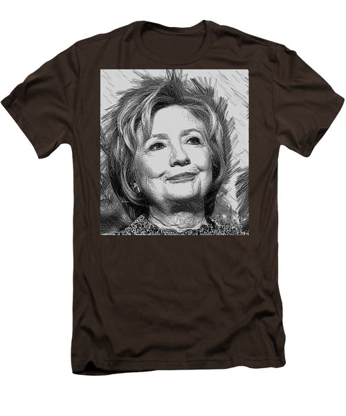 Men's T-Shirt (Slim Fit) - Hillary Clinton