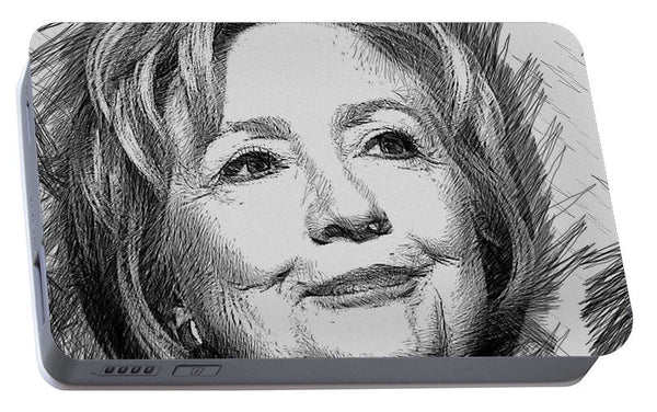 Portable Battery Charger - Hillary Clinton