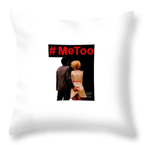 #metoo  - Throw Pillow