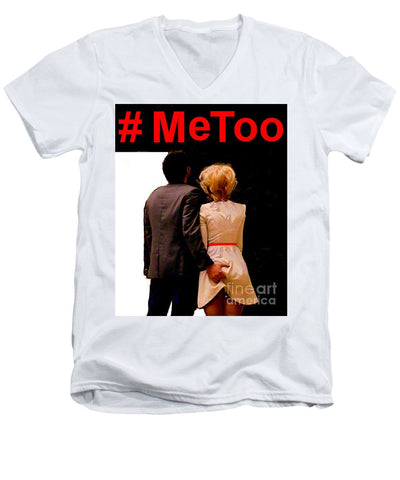 #metoo  - Men's V-Neck T-Shirt