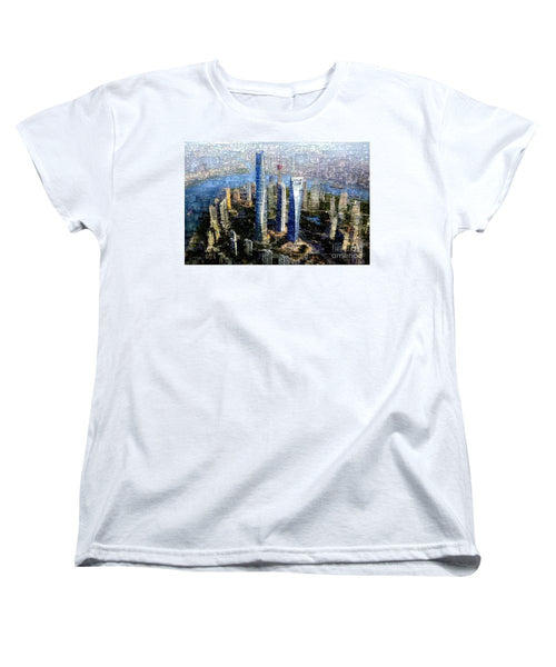 Women's T-Shirt (Standard Cut) - Shanghai, China