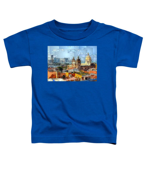 Toddler T-Shirt - The Walled City In Cartagena De Indias Colombia