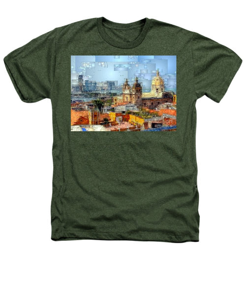 Heathers T-Shirt - The Walled City In Cartagena De Indias Colombia