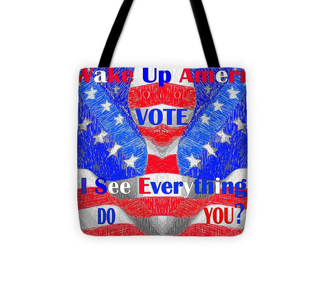 Wake Up America  - Tote Bag