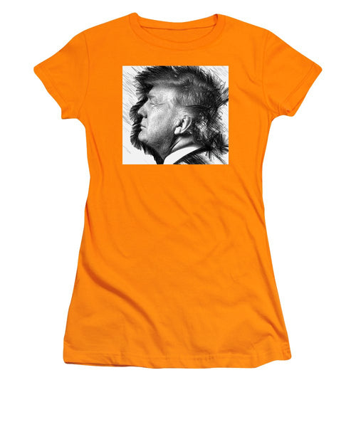 Women's T-Shirt (Junior Cut) - Donald J. Trump