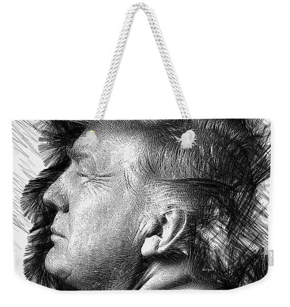 Weekender Tote Bag - Donald J. Trump