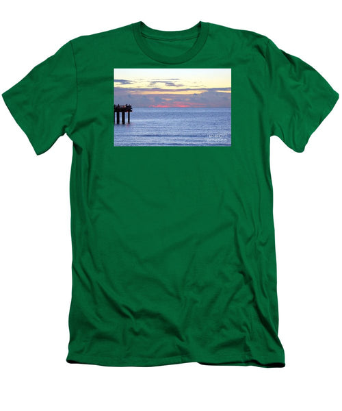 Men's T-Shirt (Slim Fit) - Sunrise In Florida Riviera