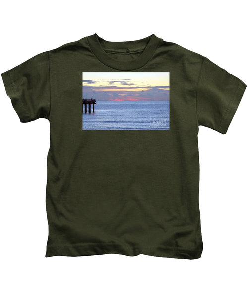 Kids T-Shirt - Sunrise In Florida Riviera