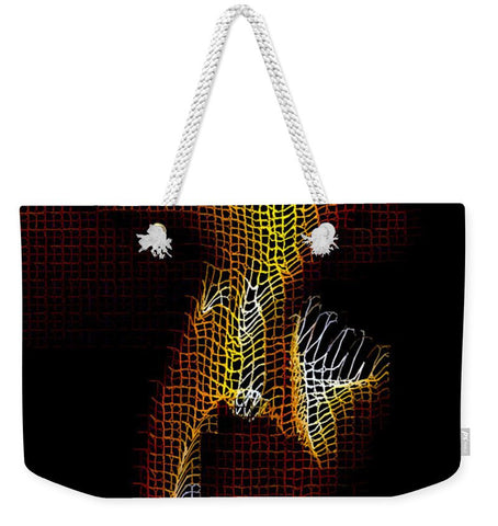 Weekender Tote Bag - 3 Dimensional Shadows