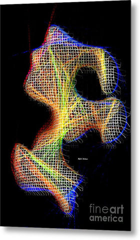 Metal Print - 3d Abstract 711