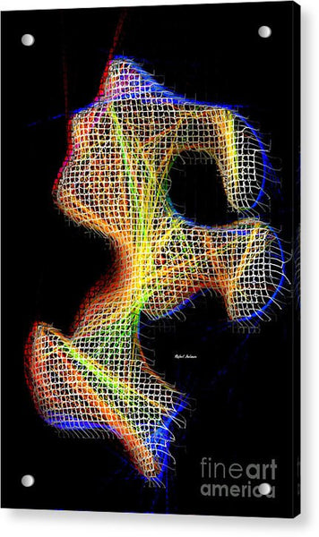 Acrylic Print - 3d Abstract 711