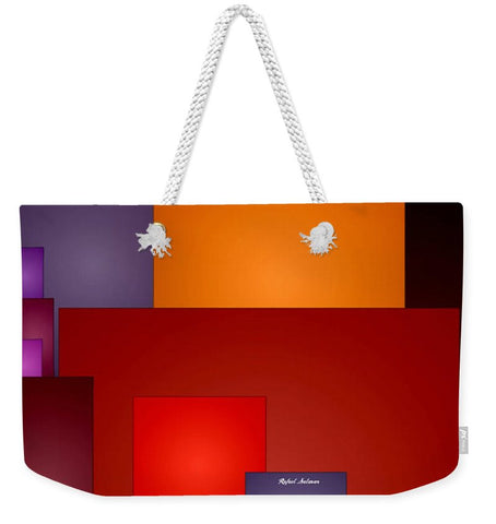 Weekender Tote Bag - 4th Of July Fireworks