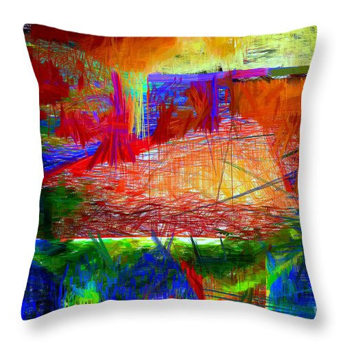 Throw Pillow - Abstract 0118