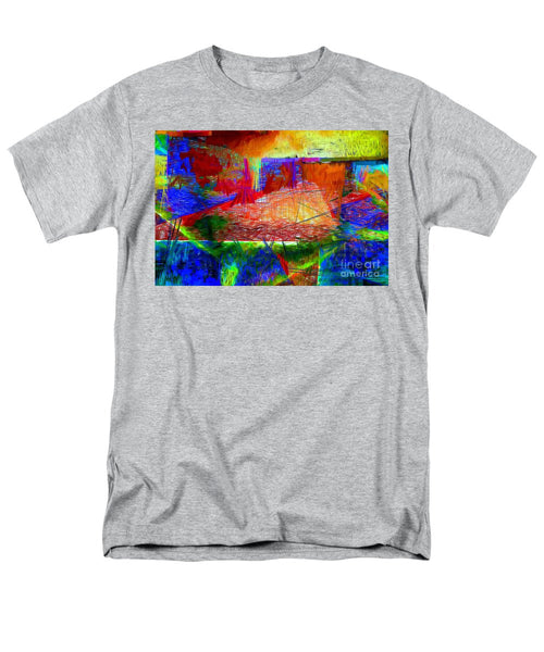 Men's T-Shirt  (Regular Fit) - Abstract 0118