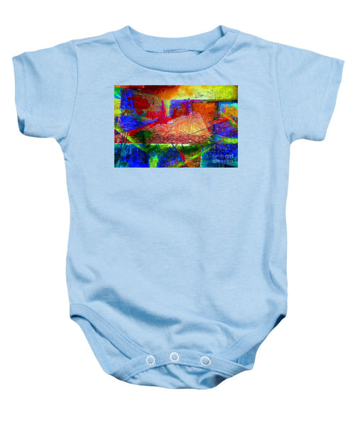 Baby Onesie - Abstract 0118