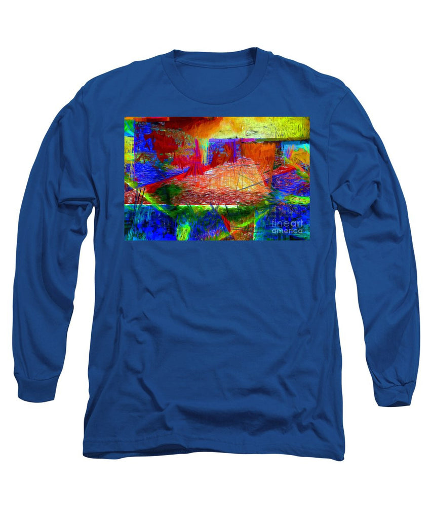 Long Sleeve T-Shirt - Abstract 0118