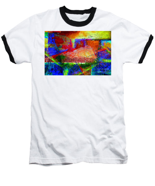 Baseball T-Shirt - Abstract 0118