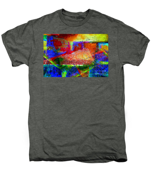 Men's Premium T-Shirt - Abstract 0118
