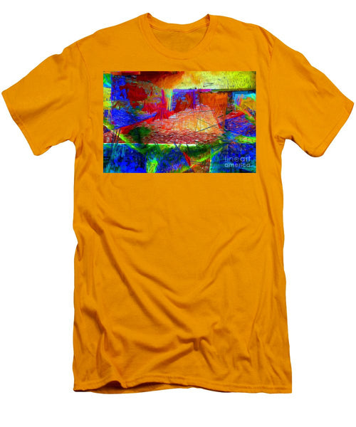 Men's T-Shirt (Slim Fit) - Abstract 0118