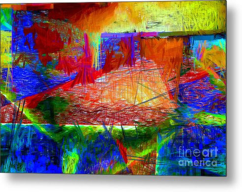 Metal Print - Abstract 0118