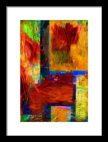 Framed Print - Abstract 0119