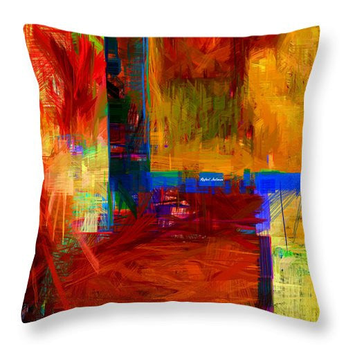 Throw Pillow - Abstract 0119