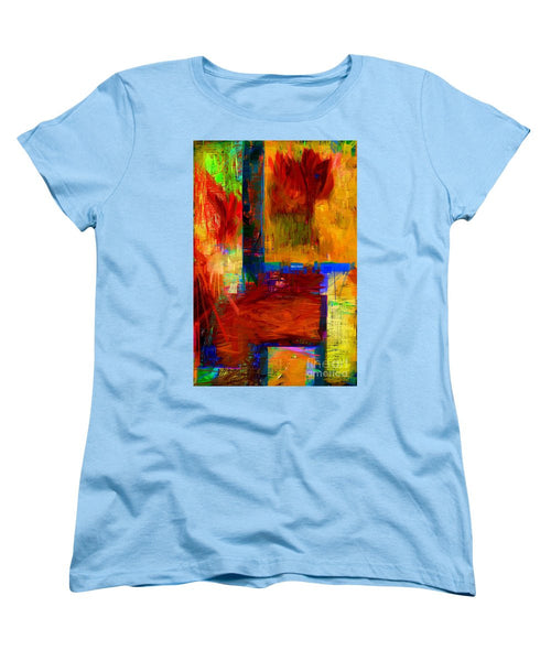 Women's T-Shirt (Standard Cut) - Abstract 0119