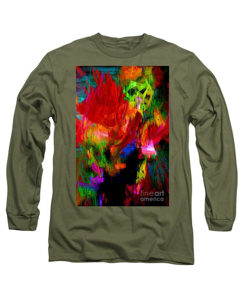 Long Sleeve T-Shirt - Abstract 0140