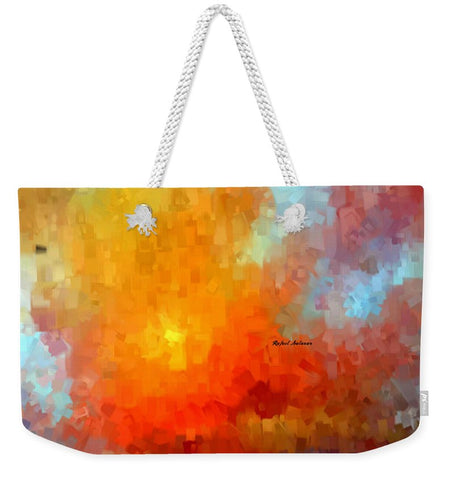 Abstract 028 - Weekender Tote Bag