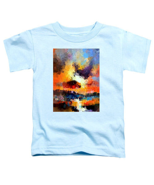 Toddler T-Shirt - Abstract 030