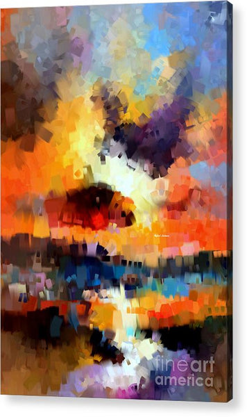Acrylic Print - Abstract 030