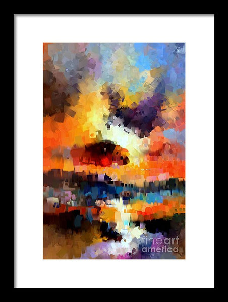 Framed Print - Abstract 030