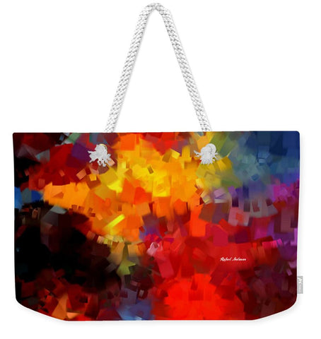 Abstract 034 - Weekender Tote Bag