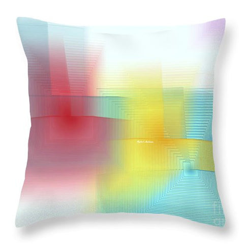 Throw Pillow - Abstract 1602