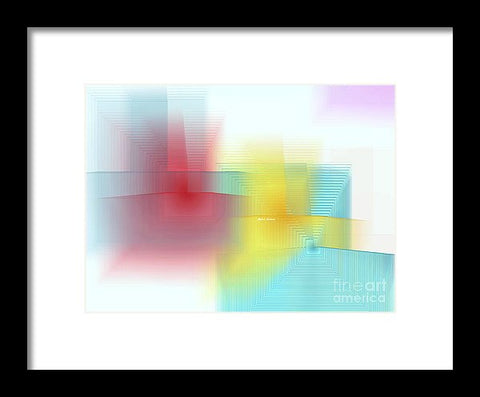 Framed Print - Abstract 1602