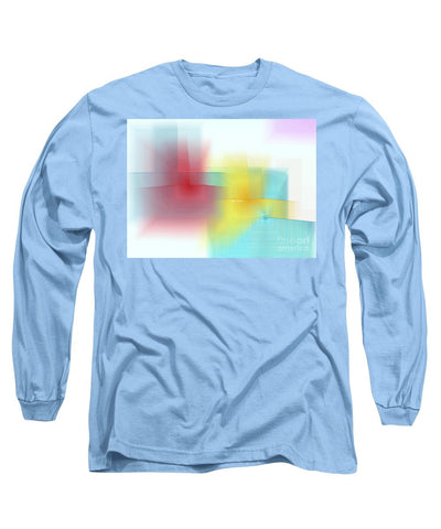 Long Sleeve T-Shirt - Abstract 1602