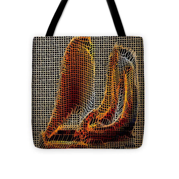 Tote Bag - Abstract 3d Sculpture
