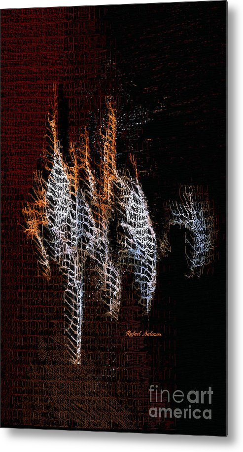 Abstract 401 - Metal Print
