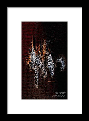 Abstract 401 - Framed Print