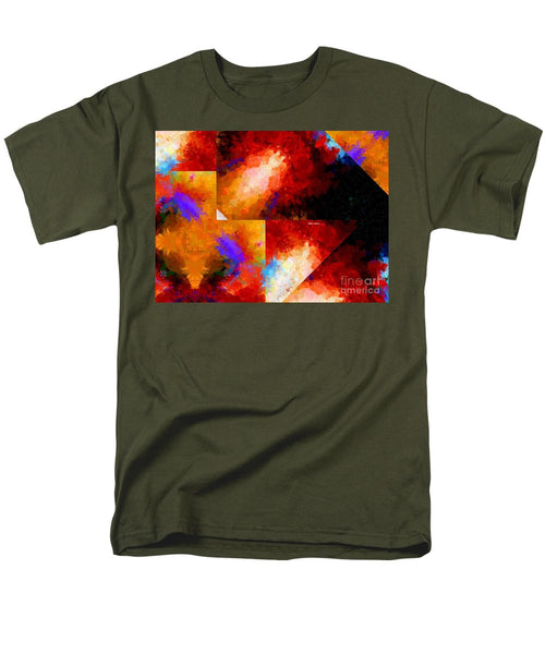Men's T-Shirt  (Regular Fit) - Abstract 470