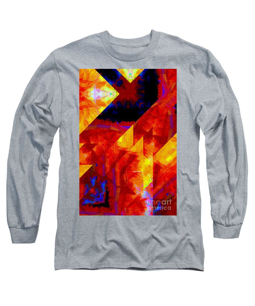Long Sleeve T-Shirt - Abstract 471