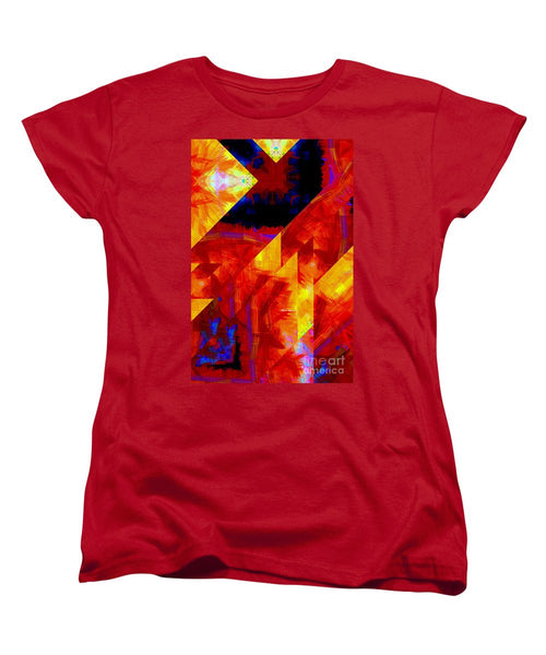 Women's T-Shirt (Standard Cut) - Abstract 471