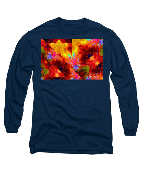 Long Sleeve T-Shirt - Abstract 472