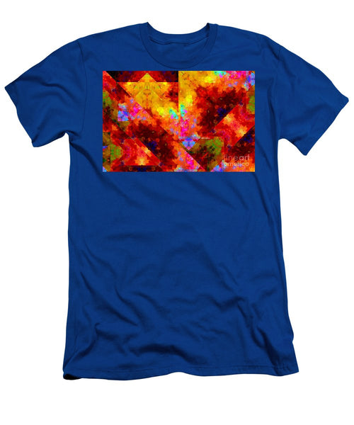 Men's T-Shirt (Slim Fit) - Abstract 472