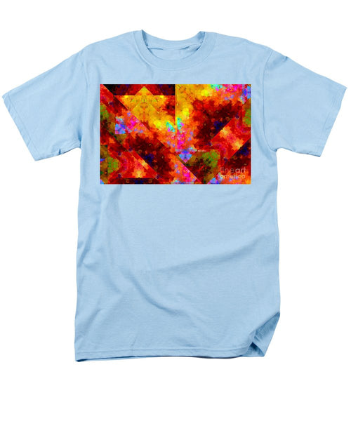 Men's T-Shirt  (Regular Fit) - Abstract 472