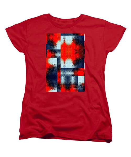 Women's T-Shirt (Standard Cut) - Abstract 473