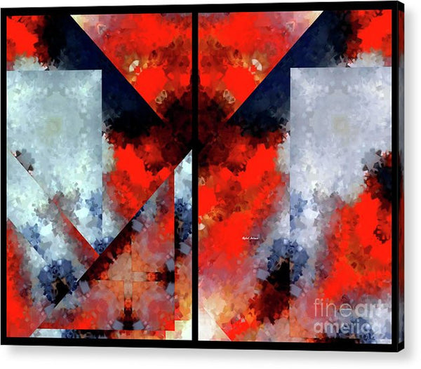 Acrylic Print - Abstract 475 476 Diptych