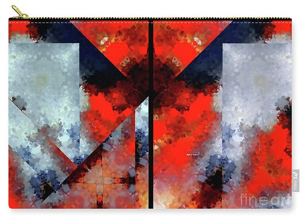 Carry-All Pouch - Abstract 475 476 Diptych