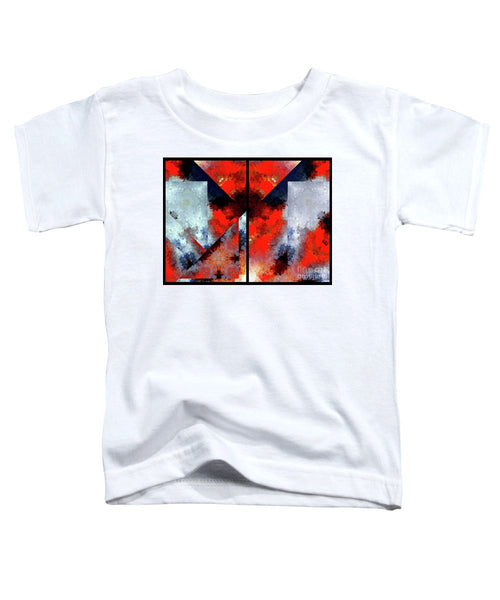 Toddler T-Shirt - Abstract 475 476 Diptych