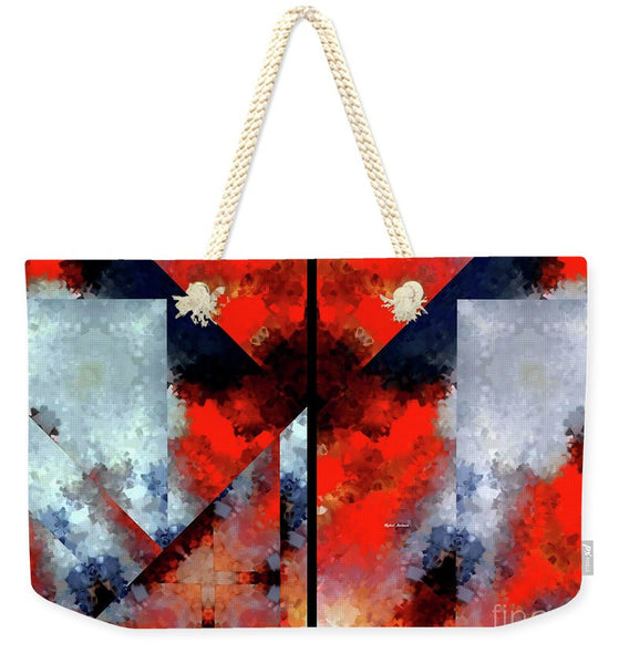 Weekender Tote Bag - Abstract 475 476 Diptych